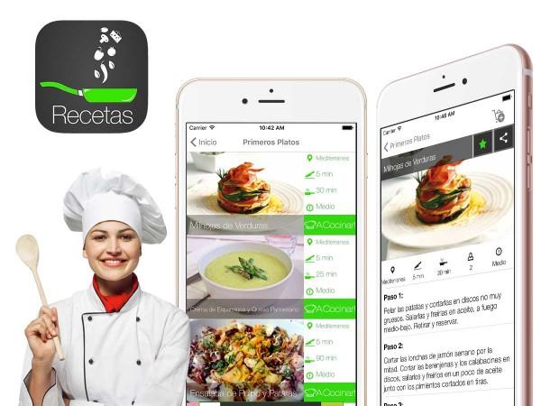 App Recetas Sanas