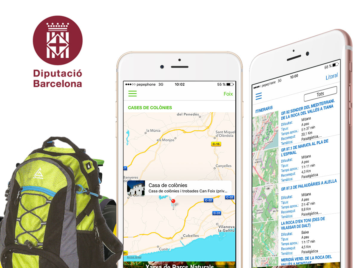 Apps Parcs Diputación de Barcelona