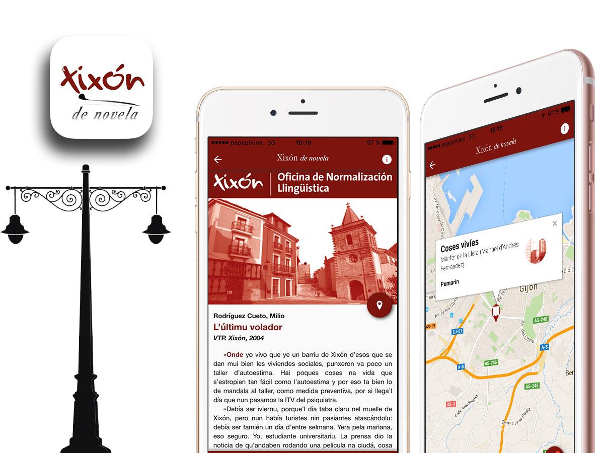 App Xixón de Novela